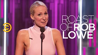 Roast of Rob Lowe - Nikki Glaser - Jeff Ross's Royal Heritage