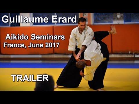 Guillaume Erard - Programme stages d'Aikido en France juin 2017