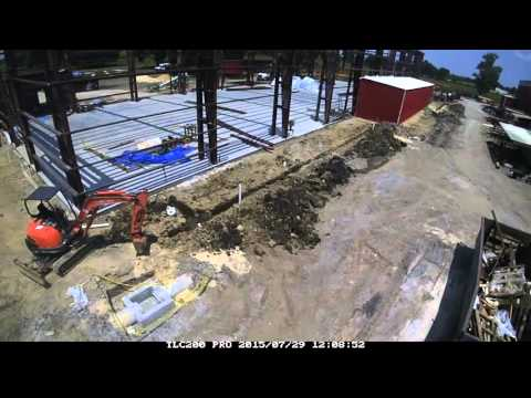GEO Heat Exchanger's New Shop Construction Time-Lapse