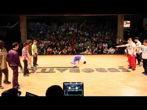 Chasseurs 2 prime Vs BBoy France Team [BBoy Championship World Series / Eurobattle 2011]