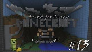 Minecraft Quest for Cheese. Серия 13 - Ящик с майнкрафтом.