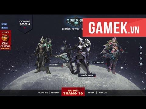 [GameK.vn] Trải nghiệm Thiên Địa 3D - Game mới ra mắt tại Việt Nam