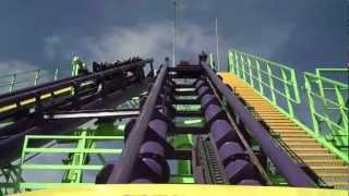 Boomerang Six Flags México HD Recorrido Completo En