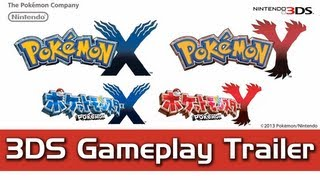 Pokemon X And Y Gameplay Trailer (HD) Nintendo 3DS