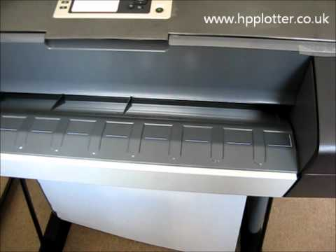 Designjet Z3200/Z3100/Z2100 Series - Load paper/media roll on your Photo printer