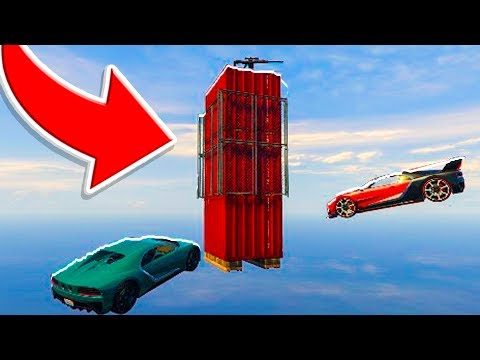 6-Player Mario Towers VS Snipers - GTA V Online Funny Moments | JeromeACE