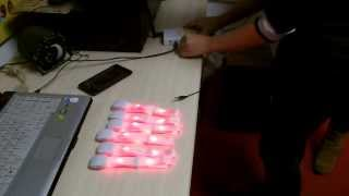 [LED Glowing Bracelet for Maleficent Disney,Rfband,Xyband,Con...] Video