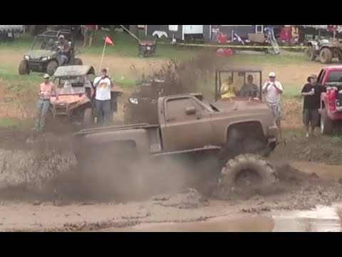 Mud, Money & Major Horsepower! Trucks Gone Wild 2013 Colfax, Louisiana Mudfest Compilation