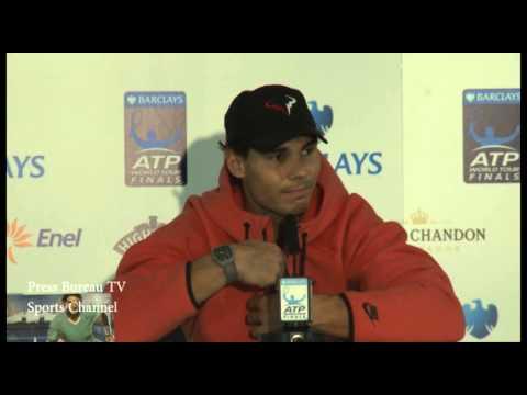 Rafael Nadal vs David Ferrer - Nadal english
