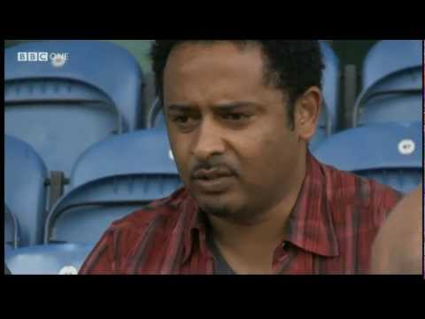 Eritrean Weynay Ghebresilasie: BBC: The One Show Interview on fleeing