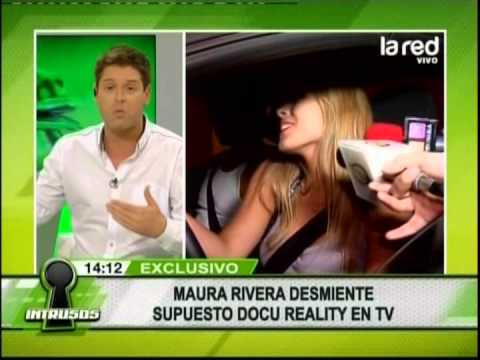 Maura Rivera desmiente docureality en la tv