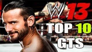 WWE 13 TOP 10 Ways To Hit Go To Sleep!! ( GTS )
