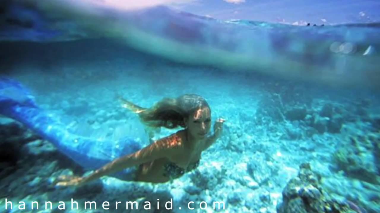 are mermaids real woman underwater modeling little