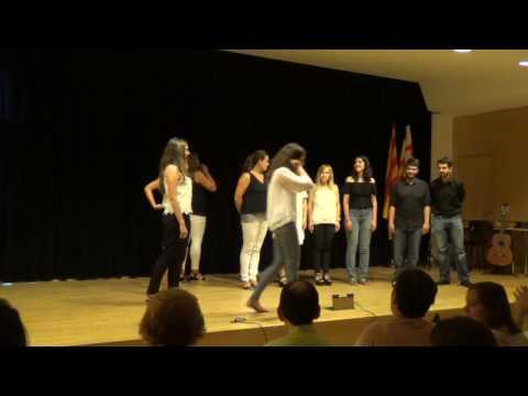 Actuación Coro Asaenes en el 4º Festival All in one
