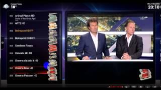 XBMC PVR.Live Simple Tv Fbox