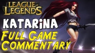 League Of Legends TiensiNoAkuma Katarina Vs AP Teemo