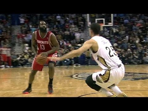 James Harden breaks Austin Rivers' ankles for the game-winner