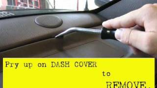 Remove And Install Jeep Grand Cherokee Dash Speakers