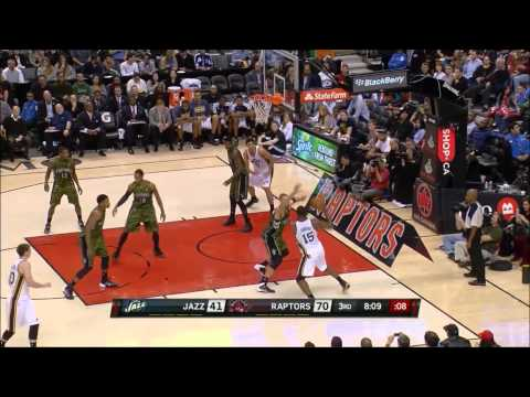 [Nov 9, 2013] Enes Kanter - 14 Points, 4 Rebounds Full Highlights vs Toronto Raptors