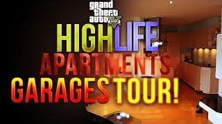 GTA 5 Online High Life Update Apartments + Garages