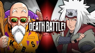 Roshi VS Jiraiya (Dragon Ball VS Naruto) | DEATH BATTLE!