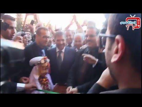 """فيديو: افتتاح أكبر سوق تجاري بإنزكان """"سوق الحرية"""""""