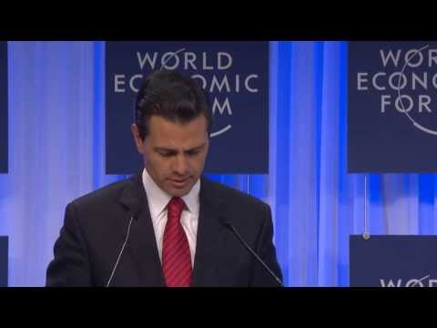 Davos 2014 Eng Special Address by Enrique Peña Nieto