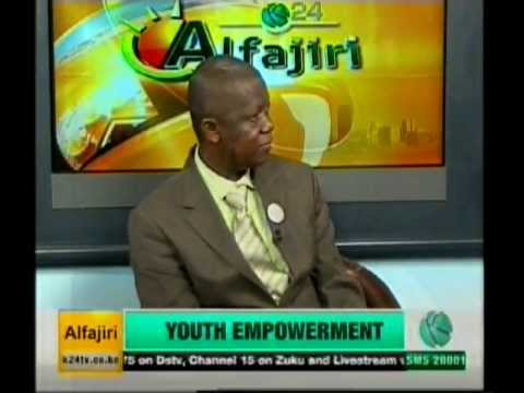 DIPEK's M.D, Peter Massawa talking about Youth Empowerment as seen on K24.