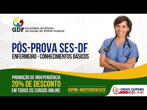 Pós Prova SES/DF - Cargo Enfermeiro - Ao vivo