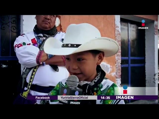"""Entrevista a Yuawi, el niño que canta """"Movimiento Naranja"""""""