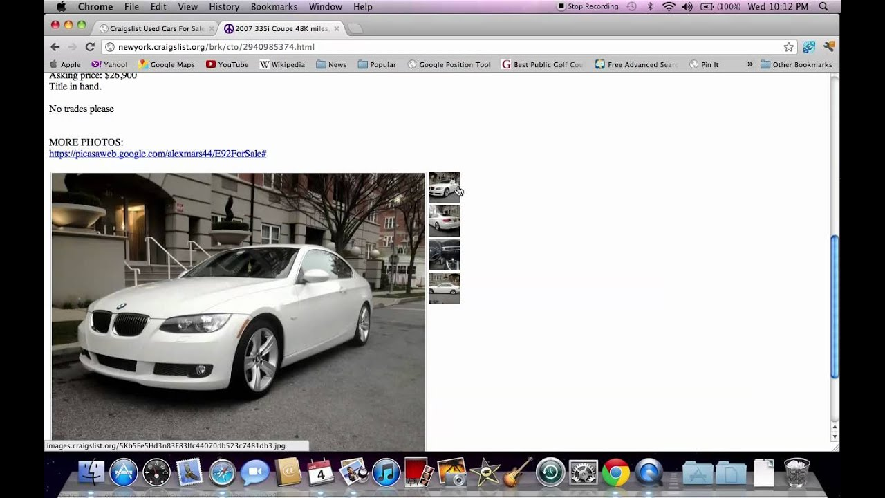 Cars For Sale New York City Craigslist