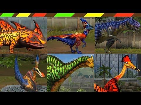 Khủng long bạo chúa chiến đấu 6 - Jurassic World The Game