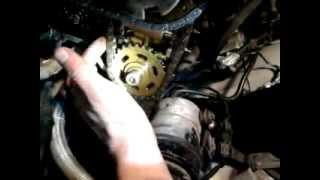 Неисправный натяжитель цепи у двигателя BMW M62B35