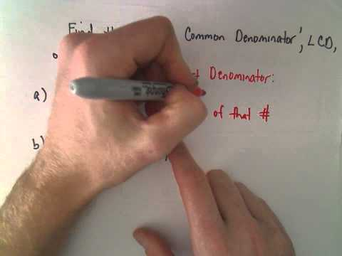 Adding and Subtracting Fractions / Mixed Numbers: Example 2