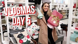 CHRISTMAS SHOPPING AT TARGET | ALEX AND MICHAEL VLOGMAS!