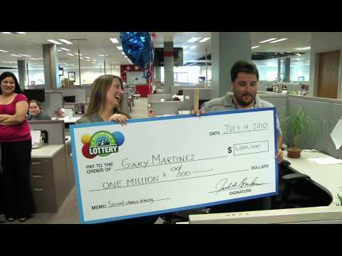 Colorado Lottery Second-Chance Drawing Winner - Is surprised with news that he won $1 million