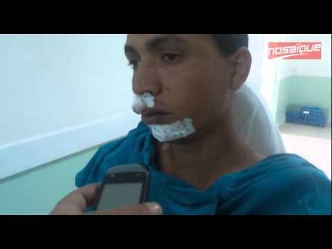 Image video عون الأمن المصاب : إطلاق الرصاص دام ساعة إلا ربع