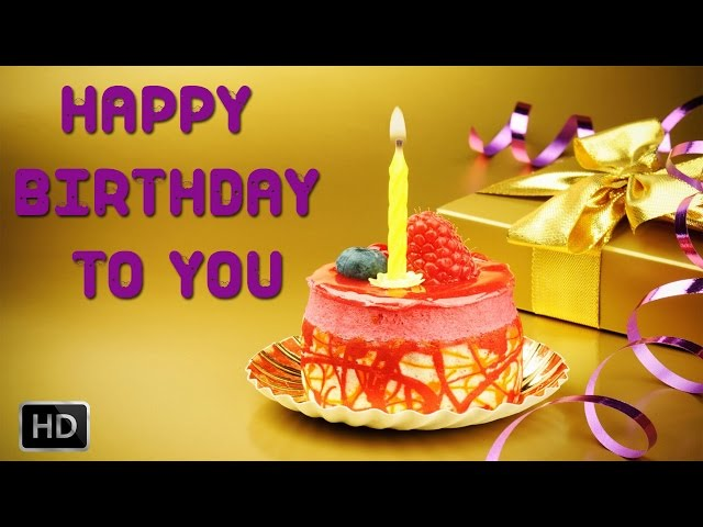 Happy Birthday To You - Karaoke[Sing Along] - Birthday Party Songs