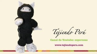 Tutorial Cómo Tejer Un Gato Ninja En Dos Agujas O Palitos
