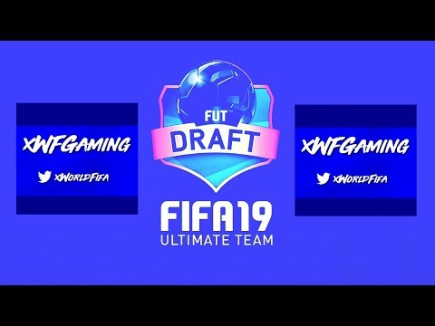 MY FIRST DRAFT OF FIFA 19!! - FUT DRAFT TO GLORY #1 (FIFA 19) (LIVE STREAM)