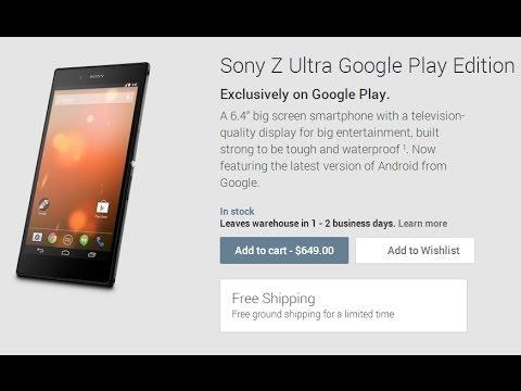 SONY Xperia Z Ultra Google Play Edition 2014 Harga, Spesifikasi ...
