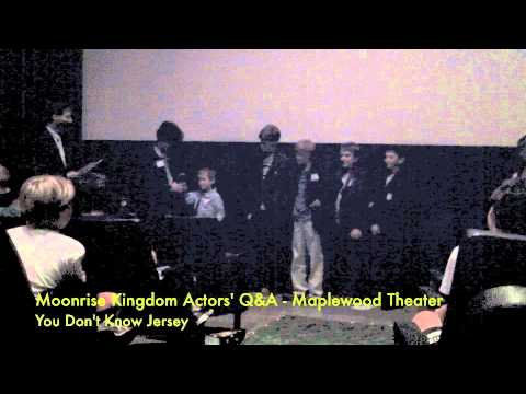 Moonrise Kingdom Child Actors Q&A, Maplewood, New Jersey