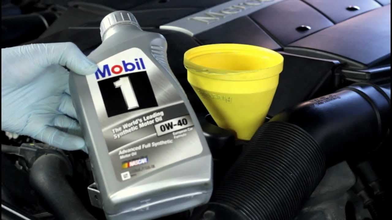 1997 Mercedes E320 Oil Change