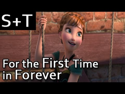 [HQ] Frozen - For the First Time in Forever - Hebrew (Subs+Translation)