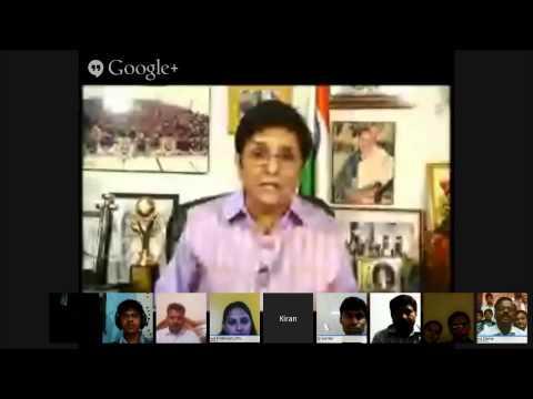 Dr  Kiran Bedi supports Modi