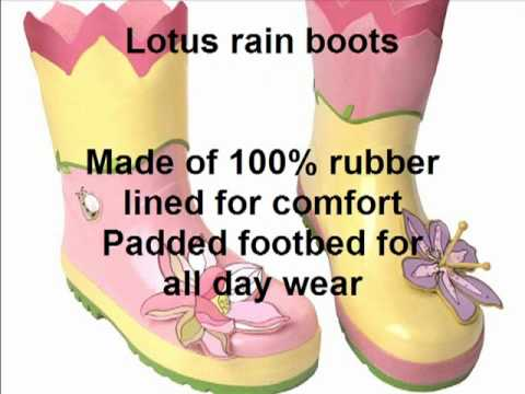 Kidorable Lotus Rainwear at www.tootsiesrainwear.com