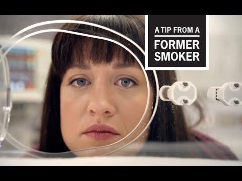 戒菸者現身說法—AmandaCDC: Tips From Former Smokers - Amanda's Ad