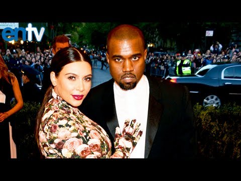Kanye West Sings I Am A God To Kim Kardashian at 2013 Met Ball