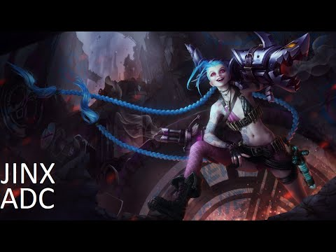 League of Legends - Normal Game as Jinx ADC - Full Game Commentary