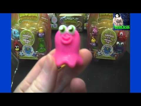 Moshi Monsters Moshlings Series 6 3 Blister Pack Unboxing Packs